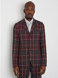ts(s) Linen Check Formal Jacket