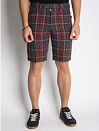 Ts(s) Linen Check Shorts 1