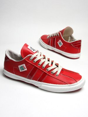 Red Split Toe Sneaker