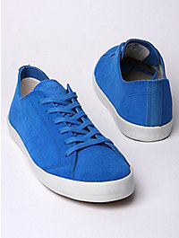 Veja Men's Indigenos Swedish Blue Low Top Trainers *Exclusive Colourway