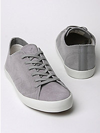 Veja Men's Indigenos Grey Stone Low Top Trainers, Exclusive Colourway